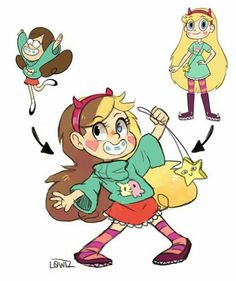 Star butterfly and mable fusion