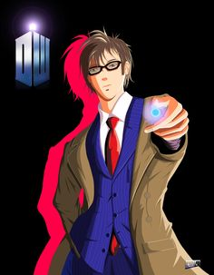 The Doctor would make for such a cool anime.