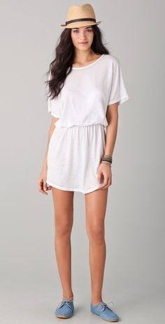 So Low Cover Up Shirttail Dress