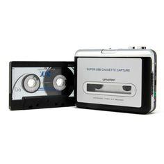 Walkman con usb para conversion de cintas a mp3