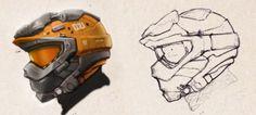 Orange Helmet by bflynn22 - Bryan Flynn - CGHUB via PinCG.com