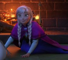 I love Anna's smile here, it's so cute! Disney Princess Frozen, Cute Princess, Princess Anna, Anna Frozen, Princess Zelda, Disney Cartoons, Disney Movies, Frozen Pictures, Frozen Pics