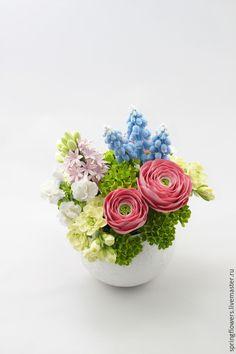 Купить цветочное изобилие - разноцветный, подарок, подарок девушке, подарок на день рождения