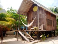 Beachfront Cabins in Belize, Coast, Placencia