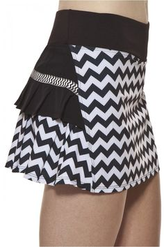 Tennis Clothing l AdEdge Pleated Tennis Skort : 122RB-034