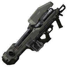 Halo 4 Art & Pictures,  UNSC Spartan Laser