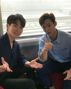 180710 lingchengg IG Update with and . Btob, Yook Sungjae, Lee Minhyuk, Im Hyunsik, Lee Changsub, Born To Beat, Rap Lines, Kpop Boy, Boy Groups