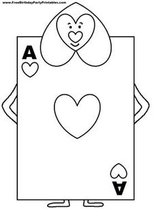 alice in wonderland original art playing cards - Google Search