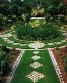 backyard designs with walkways, creative yard landscaping ideas
