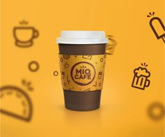 """Check out this @Behance project: """"Mio Café – Convenience Club 