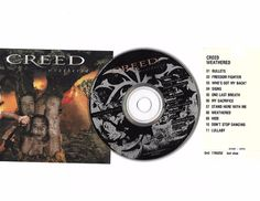 CREED Weathered Cd Compact Disc W/JukeBox Title Page Free S/H USA