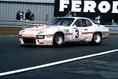 Le Mans 24 Hours, June The Porsche 924 Carrera GT 'Le Mans' driven by Derek Bell and Al Holbert Porsche Factory, Porsche 968, Man Parts, Turbo S, Gto, Rc Cars, Le Mans, Carrera, 15 June