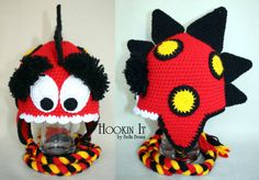 Red Monster Hat