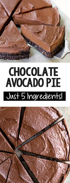 How To Make Chocolate Avocado Pie! How To Make Chocolate Avocado Pie! The Best Creamy Vegan Chocolate Avocado Pie Recipe Avocado Dessert, Avocado Pie, Baked Avocado, Avocado Mousse, Avocado Cheesecake, Avocado Smoothie, Ripe Avocado, Chocolate Pie Recipes, Chocolate Pies
