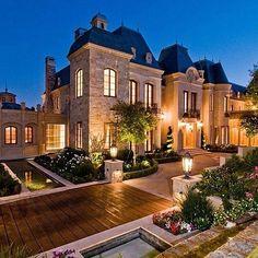 Dream mansion dream luxury homes, modern mansion, mansions Big Mansions, Luxury Mansions, Dream Mansion, Luxury Homes Dream Houses, Dream Homes, Big Homes, Modern Mansion, Expensive Houses, House Goals