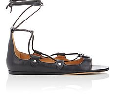 We Adore: The Alisa Lace-Up Flats from Isabel Marant at Barneys New York