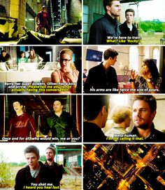 The Flash 1x08 The Flash vs. Arrow' Promo sneak peek