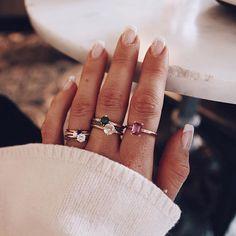 Rings from mumbaistockholm #gemstones #ädelstenar