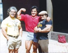 Samir Bannout, The REAL Ed Corney, and Danny Padilla.