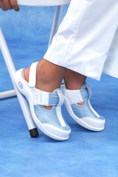 Nursing Shoes.....might have to try. My feet always hurt from so much standing