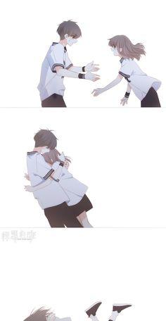 Anime Nail Polish nail polish with tea tree oil Anime Couples Drawings, Anime Couples Manga, Anime Chibi, Kawaii Anime, Otaku Anime, Anime Art, Images Kawaii, Anime Friendship, Best Anime Shows