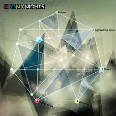 Neon Knights EP Branding