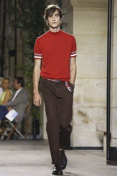 Hermes Menswear Spring Summer 2016 Paris - NOWFASHION