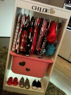 i need to do something similar to this for all my daughters dress up clothes