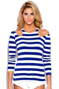 Nautical Cut Out Top from trunk-up.com