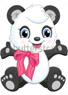 desenho de panda bebê - Pesquisa Google