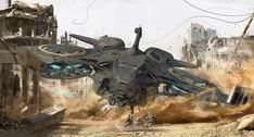 Incredible science fiction and fantasy themed concept art and illustrations by artist and illustrator Hyunwook Chun. Spaceship Concept, Spaceship Design, Concept Ships, Concept Art, Cyberpunk, Space Fantasy, Fantasy Art, Sci Fi Kunst, Sf Wallpaper