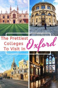 Visiting Oxford Colleges - The Ultimate Guide - My Life Long Holiday Oxford College, New College, Balliol College, Road Trip Uk, Visit Oxford, Harry Potter Filming Locations, College Guide, European City Breaks, Road Trip Destinations