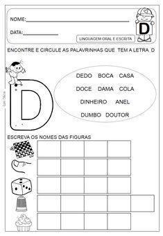 NÃO É AUTORIZADO REPRODUZIR AS ATIVIDADES EM OUTROS BLOGS!! SOMENTE COMPARTILHEM O LINK!!! DIREITOS RESERVADOS DAS ATIVIDADES E JOGOS... Kids Education, Activities, Learning, Everton, Atv, Amanda, Alphabet, Spanish, Language Activities