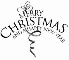 PENNY BLACK RUBBER STAMP We Wish You A Merry