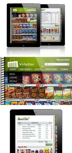 iPad Grocery Store App - James Prunean