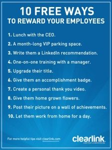10 free ways to reward employees employee appreciation quotesstaff appreciationrecognition ideasemployee