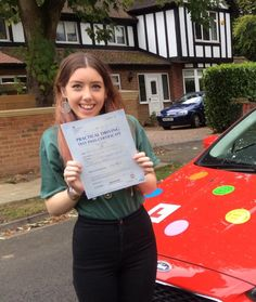 Huge congratulations to my pupil, Lydia, who has passed her driving test this afternoon at Reading Test Centre, despite an entertaining detour and a rough cold. Well done Lydia... great driving! www.clubdrive.co.uk #drivingtestpass