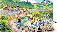 Asterix e Obelix tornano con un nuovo albo ambientato in Italia. Ecco i fatti più interessanti e meno noti sul duo ideato da René Goscinny e Albert Uderzo