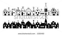 Christmas Silhouette 06 Stock Vector 2192483 : Shutterstock