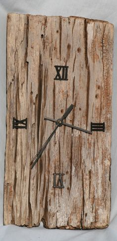 Driftwood Clock by Jan Dickers Ocean Art
