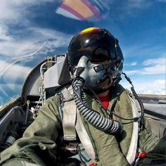 """Jose """"Fuji"""" Ramos in the Cockpit"""