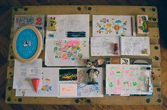 Del cuaderno a la calle Abril. Día 28 Bruno Somoza
