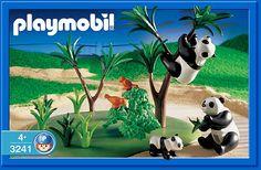 PLAYMOBIL® set #3241 - Panda Family