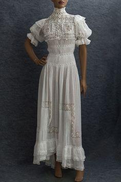 Edwardian tea dress