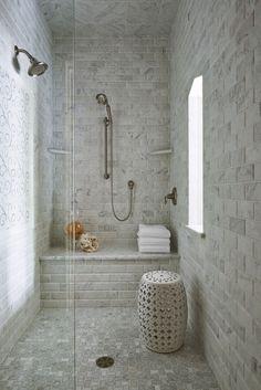 shower | Martha O'Hara Interiors