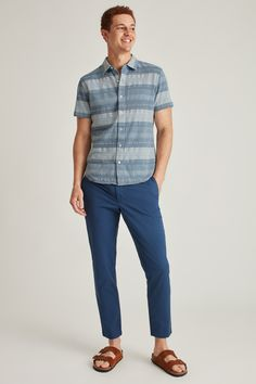 Free shipping and returns. Bonobos, home of better-fitting menswear and an easier shopping experience. Summer Family Portraits, Custom Printed Fabric, Looks Great, Menswear, Men Casual, Free Shipping, Sleeves, Mens Tops, Shirts
