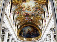 breathtaking ceilings at Versailles