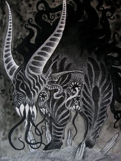 Shub Niggurath the Black Goat by verreaux on deviantART