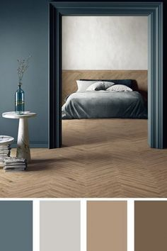 Light nuances for a special bedroom bedrooms stiffkey Bedroom soul made by soft wood nuances Bedroom Wall Colors, Bedroom Decor, Wood Bedroom, Decor Room, Paint Colors For Home, House Colors, Beautiful Interiors, Colorful Interiors, Living Room Color Schemes
