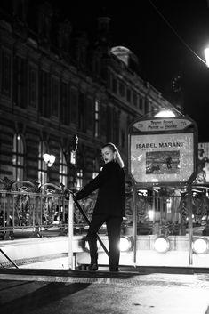 Metro station photoshoot - Photoshoot Paris - Paris photoshoot ideas - Paris photography - Paris photoshoot by night - Night photography Paris - Photoshoot Paris ideas - Metro station photoshoot ideas - Metropolitan photoshoot - Metropolitan - Isabel Marant Paris Photography, Night Photography, Night Night, Paris Paris, Metro Station, Photoshoot Ideas, Isabel Marant, Times Square, Travel
